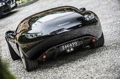 2015 #Maserati Mostro Zagato #Coupe looking so slick. #SuperCar #SportsCar #Speed #Power #Style #Design #Cars #CarShowSafari