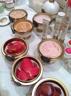 Laduree makeup line, Rose Petal Blush Makeup Goals, Makeup Inspo, Makeup Tips, Beauty Makeup, Hair Beauty, Makeup Products, Beauty Products, Laduree Makeup, Beauty Secrets