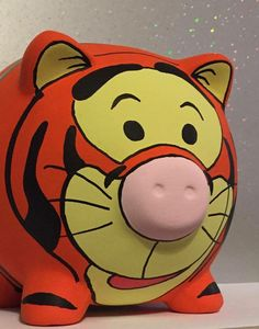 Disney inspired Tigger Winnie the Pooh & by PigsMightFlyDesigns