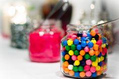 Winter Wedding.  Candy Bar.  Photo by C Singleton
