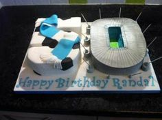If you are interested in making Manchester City Birthday cake, here are some inspiring cake that you might love. Manchester City birthday cake ideas should be tried City Cake, Happy Birthday, Birthday Cake, Randal, Cakes For Boys, Manchester City, Cake Ideas, How To Make, Happy Brithday