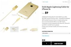 Gold-mfi-iphone-cable