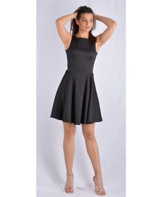 mauro mini forema toulip Mini Dresses, Black, Fashion, Moda, Black People, Fashion Styles, Fashion Illustrations, Short Dresses