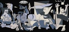 """Guernica"" by Pablo Picasso Pablo Picasso Artwork, Pablo Picasso Quotes, Art Picasso, Picasso Portraits, Picasso Paintings, Picasso Drawing, Picasso Guernica, Kunst Picasso, Drawing Tips"