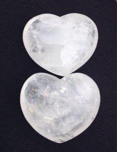Clear Quartz Heart apprx 2  4560g Pocket Stone by CrystalSensation #palmstone #pocketheart #stockingstuffer