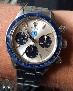 "The ""Pan Am"" Rolex Cosmograph Daytona…"