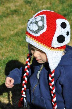 Crochet Marshall newborn baby toddler or kids paw patrol by SugarBoogerz