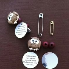 Girl Scout Brownie SWAPS - Twist me and turn me and show me the elf. I looked in the water and saw...