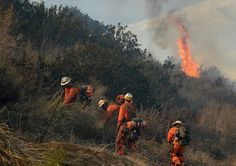 Crews stop spread of wildfire along Southern California coast
