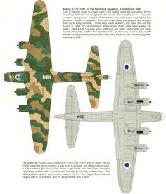 "israeli air force b-17s | Boeing B-17 Flying Fortress | Israel | 69 tajeset ""Hammers"", IDF/AF ..."