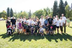 Amazing Ainsley And Friends at the Edmonton #walk4md last weekend