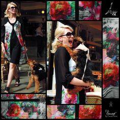 FRANCK ANNA concept        GI jo adore ce modéle         à porter façon manteau de printemps ou comme une robe       chez PNY vous conseiller est un plaisir