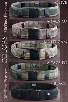 Men's Belt Men's Accessories Tactical Belt Gift For by Mirtime
