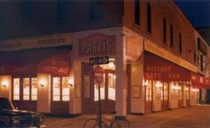 Love Pastis in the Meatpacking District, NY. Owned by the same group that owns Balthazar, it's like the younger, hipper sister. Love their fish and chips, yum.