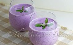 Blueberry Crème Smoothie