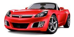 The 2009 Saturn Sky looks great and in the Red Line trim is a blast to drive, but its ergonomics and quality keep it from truly competing with the Miata. Find out why the 2009 Saturn Sky is rated by The Car Connection experts. 2008 Pontiac Solstice, Saturn Sky, Buick Skylark, Weird Cars, Top Cars, Fuel Economy, Classic Cars, Redline, Ruby Red