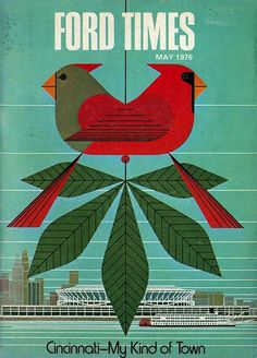 Love Charley Harper...Queen City's own!