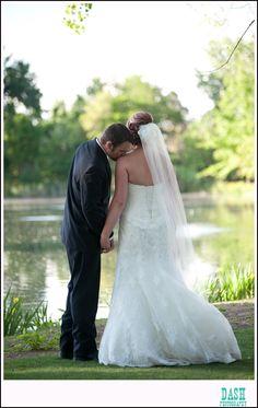 littleton wedding photographer; hudson gardens; bride and groom photo; romantic picture