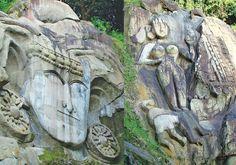 Unakoti sculptures - Tripura - Aval Vikatan | கோடிக்கு ஒன்று குறைவு! | அவள் விகடன் - 2015-09-22