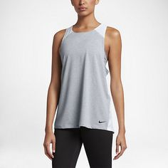The Nike Breathe Women's Training Tank combines areas of ventilation with lightweight, sweat-wicking fabric to help keep you cool, dry and comfortable when your workout heats up. Click on the link for more information!
