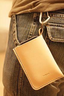 i-Pnohe4 leather case