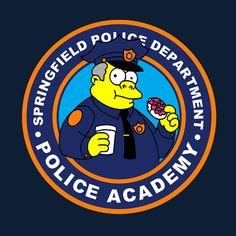 inspired by cartoons Digital Foto, Simpsons Art, Ap Studio Art, Police Academy, Futurama, Logo Sticker, Cool Logo, Caricature, Cartoon Characters