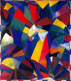 Synchromy in Orange: To Form Artist: Morgan Russell Completion Date: 1914 Style: Synchromism Genre: abstract