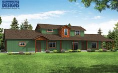 New Plan! The Harebell House Plan 31-196 is a comfortable 2-story design laid out to take advantage of a corner lot or narrow city lot with alley garage access.  1800 square feet | 2 stories | 3 bedrooms | 2.5 bathrooms | 2 car garage