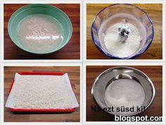 Rizsliszt készítése Mochi, Gluten Free, Healthy Recipes, Plates, Tableware, Glutenfree, Licence Plates, Dishes, Dinnerware