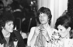 Reed, Jagger & Bowie <3