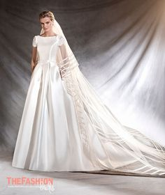 Pronovias knows that every fairy tale has a different leading lady. That's why it has created a beautiful collection for romantic, classic brides, as well as modern, daring heroines. Please contact…