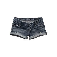 Abercrombie & Fitch > Women > Denim Shorts > Joan ❤ liked on Polyvore