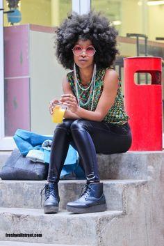 MariMoon - Meninas: Cabelo Afro