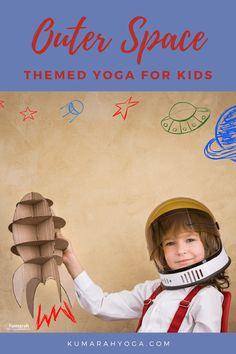 Kids Yoga with an outer space theme! Learn kids' yoga poses for rocket ships, moons, planets, and more! Kids' yoga classes with an adventure to outer space are always fun and engaging. Do yoga to the stars and back with this fun kids yoga class plan. Kids Yoga Poses, Yoga For Kids, Childrens Yoga, Outer Space Theme, Rocket Ships, Yoga Classes, How To Do Yoga, Yoga Inspiration, Namaste