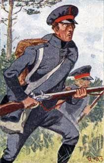 Fuciliere del 1 rgt. della fanteria di linea prussiano (13 rgt. di fanteria di linea)