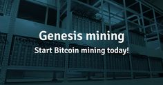 3% DISCOUNT PROMO CODE : MID6tH    https://www.genesis-mining.com/a/1061317 offers you a smart and easy way to invest your money. Their solution is suitable for those who are new to the world of crypto currencies, as well as for cryptocurrency experts and large-scale investors. Genesis Mining is the World's first large scale multi-algorithm cloud mining service offering an alternative to those who would like to engage in Bitcoin and altcoin mining.  3% DISCOUNT PROMO CODE : MID6tH