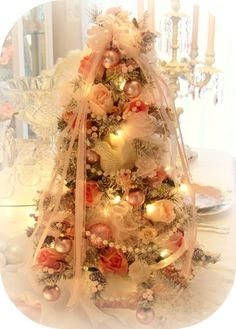 Romantic tree, shabby pink , Pink decor     www.RomancingTheRoseStudio.com ©Website Design by: OneSpringStreet.NET 2011