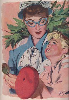 Mid Century Illustration 1948