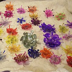 Recycled Soda Bottle Flowers by sirmamabear, via Flickr