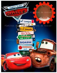 Invitaciones Cumpleaños Cars Para Protector De Pantalla 8 HD Wallpapers