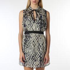 Nikka Sheath Dress Stone Python, $65, now featured on Fab.
