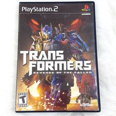 Transformers: Revenge of the Fallen Sony PlayStation 2, 2009 PS2