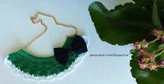 Free Pattern: Cozy Bib Crochet Necklace Free Pattern, Jewlery, Crochet Earrings, Cozy, Blog, Fashion, Jewels, Moda, Jewelry
