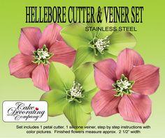 Hellebore Cutter & Veiner Set