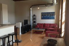 2BR Modern Downtown Loft - vacation rental in Durham, North Carolina. View more: #DurhamNorthCarolinaVacationRentals