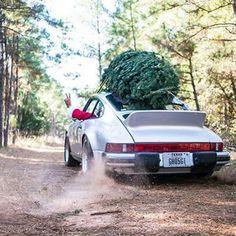 Christmas Porsche Santa Claus!!!