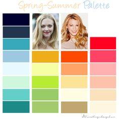 Spring-Summer Colour Palette
