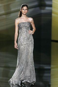 Elie Saab Fall 2006 Couture Fashion Show - Eugenia Volodina