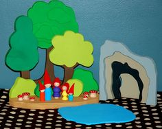 Scroll Saw project plans (homemade toy sets)