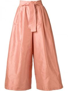 Tome Wide Leg Belted Trousers Pants | Clothing